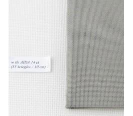 AIDA 20 ct ( 35x42 cm) kolor: 7025 - granitowy