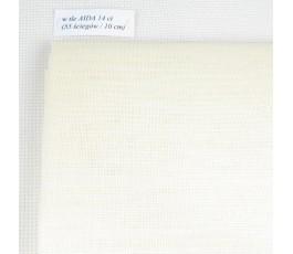 Len obrazkowy 32 ct (50 x 70 cm) kolor: 22 - ecru