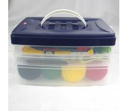 Plastikowy przybornik Click Box Baza
