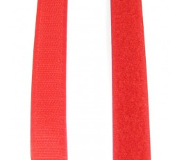Taśma rzepowa czerwona 20 mm