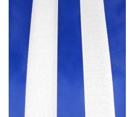 Taśma rzepowa biała 20 mm z klejem