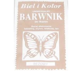 Barwnik do tkanin - kolor: beżowy