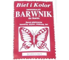 Barwnik do tkanin - kolor: bordowy