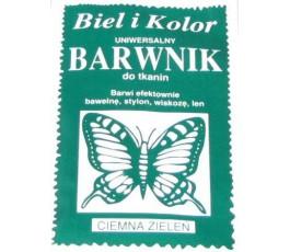 Barwnik do tkanin - kolor: ciemna zieleń