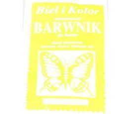 Barwnik do tkanin - kolor: cytrynowy