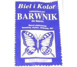 Barwnik do tkanin - kolor: foiletowy