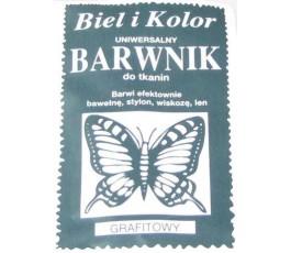 Barwnik do tkanin - kolor: grafitowy