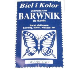 Barwnik do tkanin - kolor: granatowy