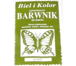 Barwnik do tkanin - kolor: khaki
