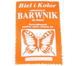 Barwnik do tkanin - kolor: pomarańczowy
