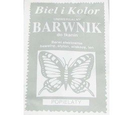 Barwnik do tkanin - kolor: popielaty