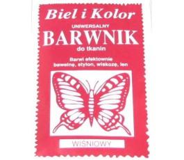 Barwnik do tkanin - kolor: wiśniowy