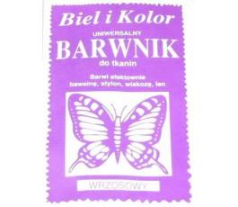 Barwnik do tkanin - kolor: wrzosowy