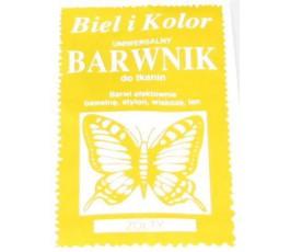 Barwnik do tkanin - kolor: żółty