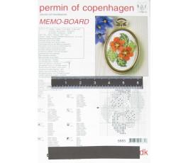 Tabliczka magnetyczna 20 x 29,5 cm z magnesami