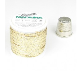 Madeira Metallic nr 8 kolor: 8012 jasnozłoty