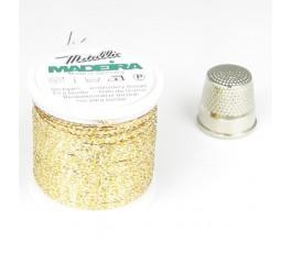 Madeira Metallic nr 8 kolor: 8013 złoty