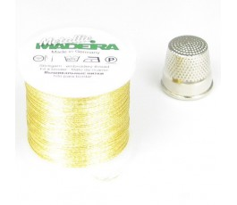 Madeira Metallic nr 12 kolor: gold 33 złoty