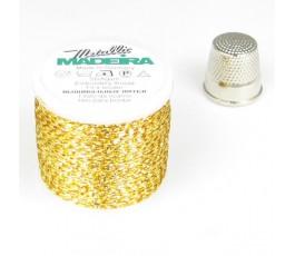 Madeira Metallic nr 25 kolor: 2534 złoty