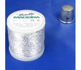 Madeira Metallic nr 20 kolor: 2042 srebro
