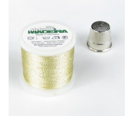 Madeira Metallic no. 12 colour: silver