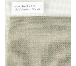 AIDA 20 ct-Linen (35 x 42 cm) kolor: 53 - naturalny