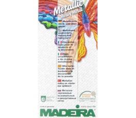 Karta kolorów nici metalizowanych Madeira