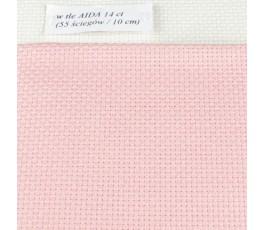 AIDA 14 ct (35 x 42 cm) kolor: 313 - różowy