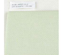 AIDA 16 ct (35 x 42 cm) kolor: 7600 - oliwkowy jasny