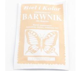 Barwnik do tkanin - morelowy