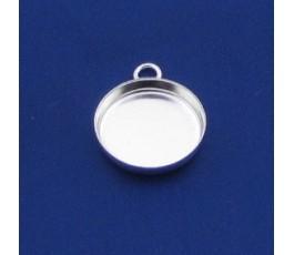 Oprawka 18 mm, kolor srebrny