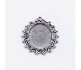 Oprawka 18x25 mm, kolor antyczne srebro