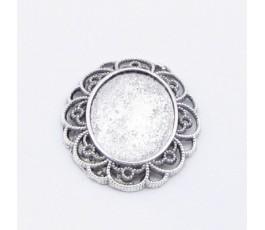 Oprawka 20x27 mm, kolor antyczne srebro
