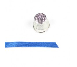 Wstążka satynowa dwustronna 6 mm, kolor: chaber - 23