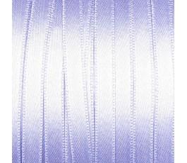 Wstążka satynowa dwustronna 6 mm, kolor: jasnofioletowy - 25