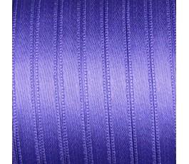 Wstążka satynowa dwustronna 6 mm, kolor: fioletowy - 26