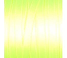 Wstążka satynowa dwustronna 6 mm, kolor: limetkowy fluo - 32