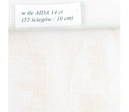 BELFAST VINTAGE (marmurkowy) 32 ct (50 x 70 cm) kolor: 4119 - brzoskwiniowy