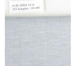 BELFAST 32 ct (50 x 70 cm) kolor: 705 - szary