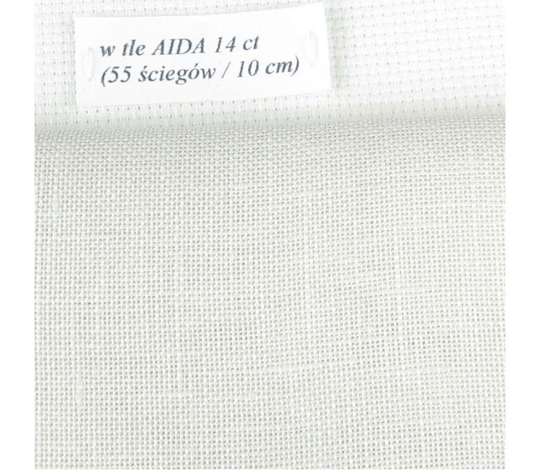 BELFAST 32 ct (50 x 70 cm) kolor: 770 - perłowobeżowy
