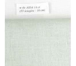 BELFAST 32 ct (50 x 70 cm) kolor: 6047 - zielony antyczny