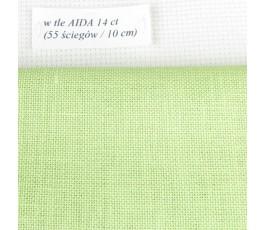 BELFAST 32 ct (50 x 70 cm) kolor: 6140 - pistacjowy