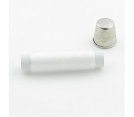 Nić - żyłka 0,125mm, kolor: biały, 175m