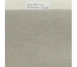 BELFAST 32 ct (50 x 70 cm) kolor: 786 - perłowoszary