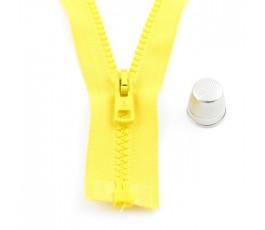 Zamek kostkowy 30 cm, żółty