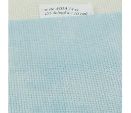 AIDA MARBLE 14 ct (35 x 45 cm) kolor: 3325 marmurkowo - niebieska (DMC)