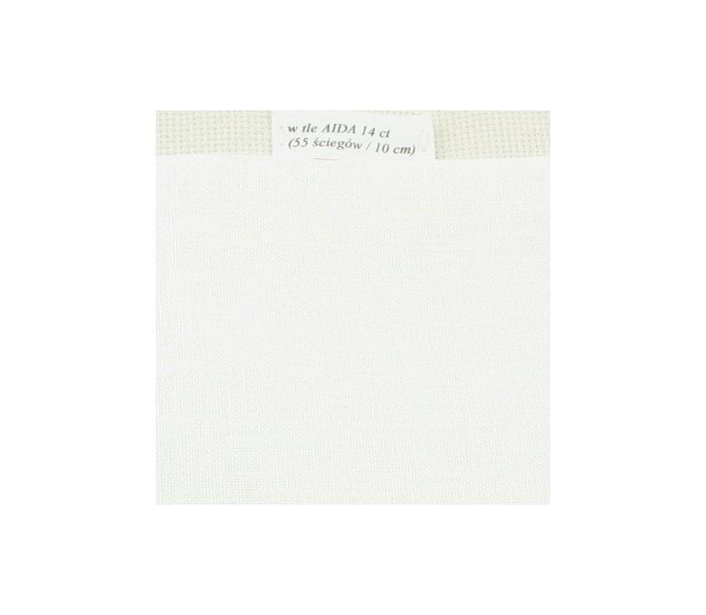 Linen fabric 35 ct (50 x 85 cm) colour: 101 – ivory