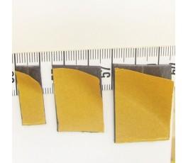 Pasek magnetyczny z klejem 100 x 10 mm