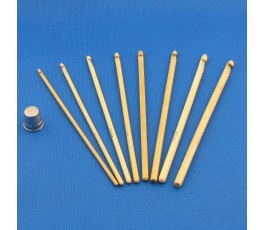 Szydełko bambusowe 3,0