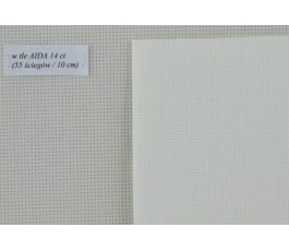 AIDA 18 ct (35 x 42 cm) colour: 101 - ivory